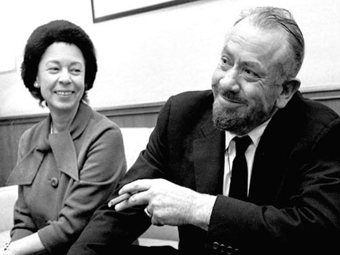 Image of Elaine and John Steinbeck