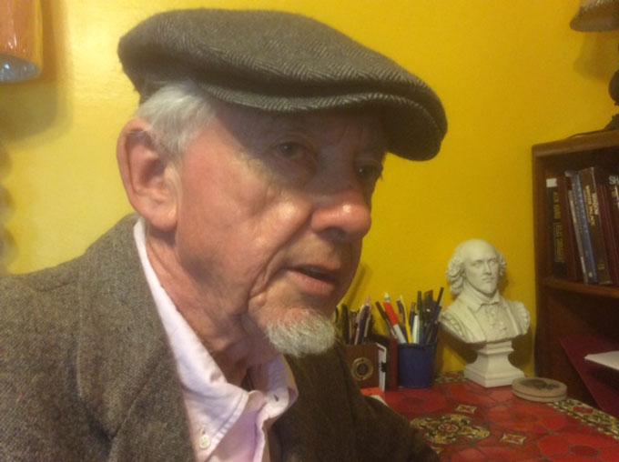 Image of Tom Lorentzen as John Steinbeck