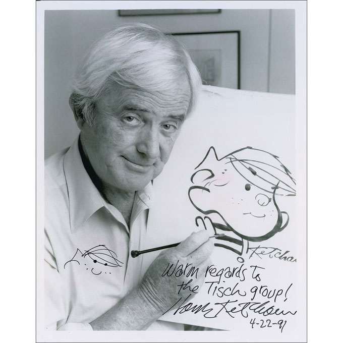 Image of Hank Ketcham in 1953