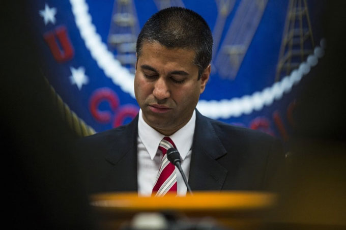 Image of Ajit Pai, Donald Trump's pick for FCC chairman