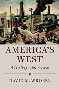 Cover image from America's West: A History, 1890-1950