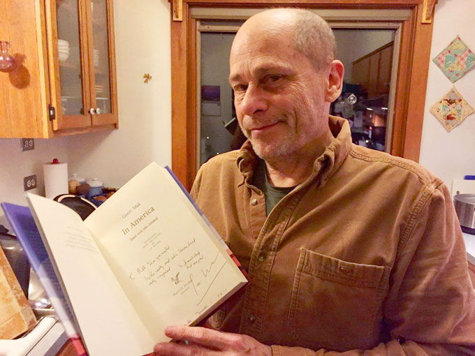 Image of Bill Steigerwald and Geert Mak's book about John Steinbeck and America