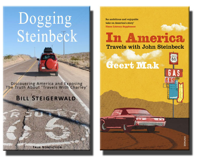 Composite cover image of Dogging Steinbeck and In America