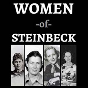 Image of exhibit on John Steinbeck's women at San Jose State University